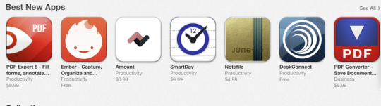 SmartDay for iPad 'Best New App' on App Store