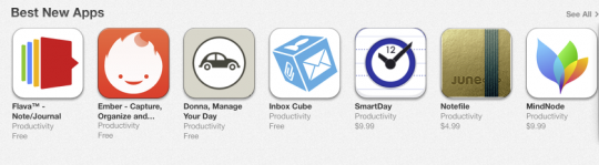"""SmartDay for iPhone: """"Best New App"""" on App Store"""