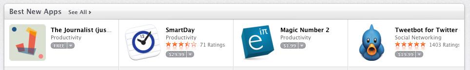 SmartDay - Best New App - Mac App Store