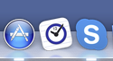 Drag the SmartDay icon onto your Dock